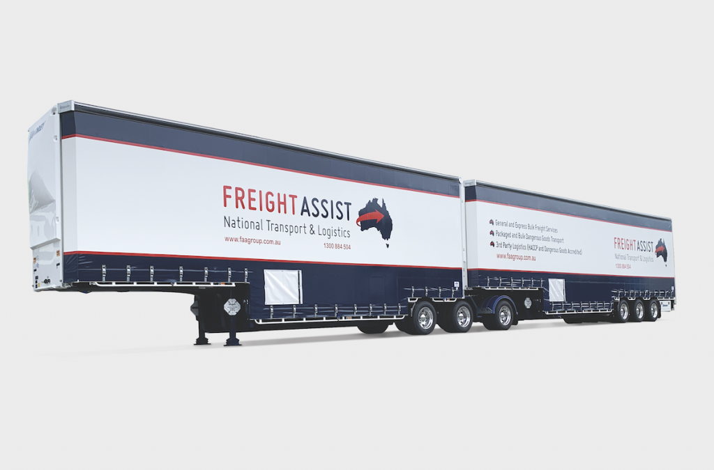 Delivery of High Productivity PBS Vawdrey Super B Trailers